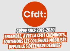 Caisse de grève CFDT Cheminots