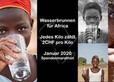 Spenden-Marathon - Wasser für Africa