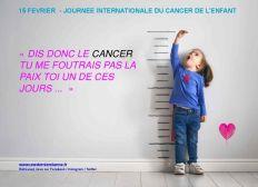 Journée internationale du cancer de l'enfant le 15 février