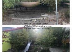 Gartenumbau Kinder und Familienzentrum Rosenstraße Möglingen