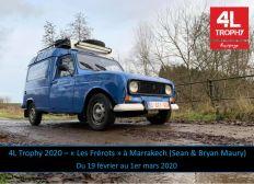"""4L Trophy 2020 - """"Les Frérots"""" à Marrakech (Sean & Bryan Maury)"""