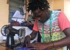 Atelier de couture solidaire au Togo