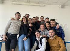 Un groupe d'étudiants Bordelais à la découverte de la logistique Polonaise