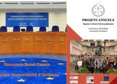 M2 DCJ Orléans : Participation au Concours européen des droits de l'homme René Cassin / Projets annuels