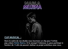 "Clip ""La scène"", Nabla Mujina"
