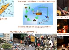 Abfälle zu Biogas für Madagaskar