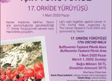 Support 17th Orchid Walk for cancer research