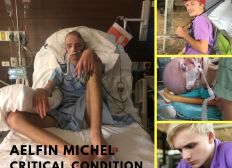 Support for Aelfin Michel