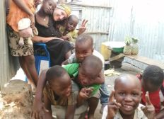 Notre maison pour les enfants des bidonvilles