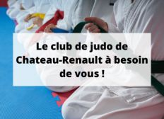 Aidez le club du Judo de Château-Renault