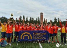 Selección española sub20 Ultimate Frisbee