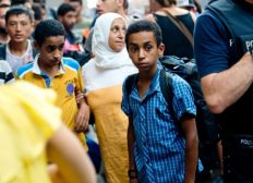 Hilfe für die Menschen an der Grenze Edirne