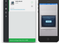 Preview: New HTML5 PhoneGap Project