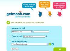 GetMooh Gets You Out Of Sticky Social Situations