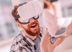 Virtual Reality Headset, In Video