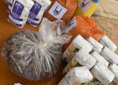 Lebensmittelpakete für Familien weltweit