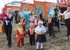 Spendenaktion für den Zirkus Casselli in Heinsberg