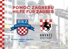 Pomoc Zagrebu / Hilfe für Zagreb