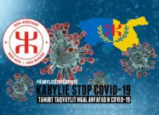 Tamurt Taqvaylit mgal anfafad n Covid-19 / Kabylie, Stop Covid-19