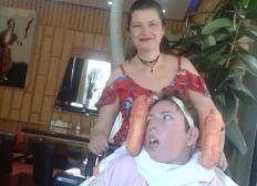 Überraschung für meine Schwester Angelina und Mama Karin
