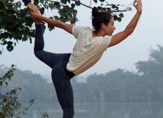 Johanna's virtueller Yogaunterricht