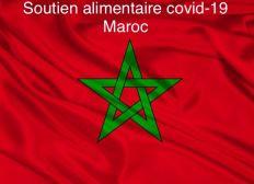 Covid-19 soutien alimentaire aux familles marocaines