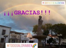 Ayuda solidaria para la localidad Santiago de Alcántara / COVID19
