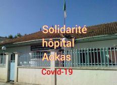 solidarité hôpital d'Aokas (covid 19)