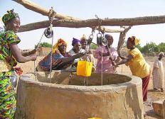 Construction d'un puits au Mali
