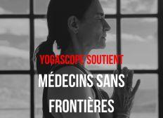 YOGASCOPE SOUTIENT MÉDECINS SANS FRONTIÈRES