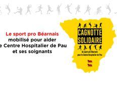 Le sport pro béarnais au soutien du Centre Hospitalier de Pau