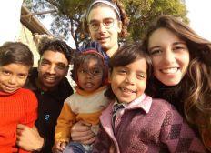 Education for 3 members of an Indian family near Bodhgaya (India)