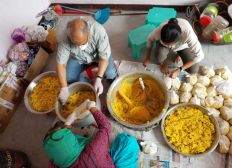 Workers' Dhaba in Delhi