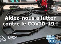 Aidez-nous à lutter contre le COVID-19 (impression 3D)