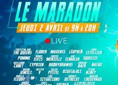 MARADON - LE LIVE CARITATIF DE MCFLY ET CARLITO