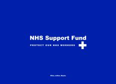 NHS Support Fund: One Million Masks Project