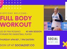 socialdistco- Full Body Workout