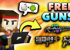 Pixel Gun 3d How To Get Free Guns
