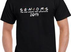 Official Seniors The One Where They Graduate 2019 Shirt