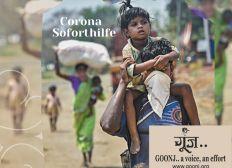 Covid Sofort Hilfe Indien - Goonj e.V.
