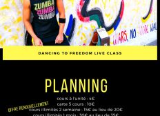 FREEDOM TO LIVE CLASS