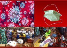 Coronavirus  en Centrafrique : Appel aux dons pour la confection locale de masques