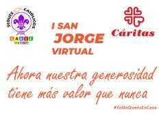 Donación I San Jorge Virtual de Scouts Católicos de Cádiz y Ceuta