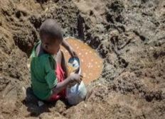 Not Corona alone - water means life for children in Gambia Africa