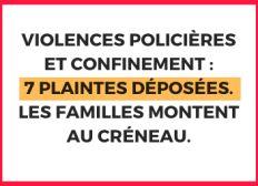 Solidarité avec les victimes de violences policières