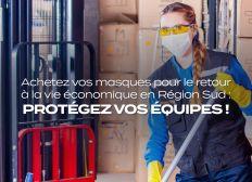Vous avez besoin de masques pour travailler ! Commandez-les, nous vous garantissons la sécurité de votre commande et sa livraison par ce regroupement d'achat !