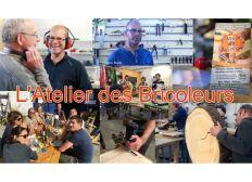 L'atelier des bricoleurs : l'atelier partagé bois et métal à Toulouse