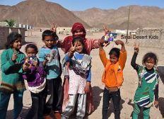 Unterstützung für Familien in der Sinai Wüste