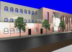 Reprise travaux Grande Mosquée Beauvais
