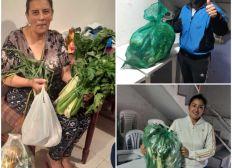 PaniersSolidaires pour des familles en difficulté à Bogotá-Colombie